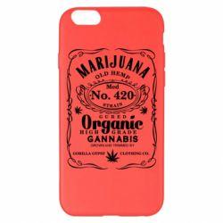 Чохол для iPhone 6 Plus/6S Plus Cannabis label
