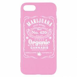 Чохол для iPhone 7 Cannabis label