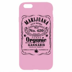 Чохол для iPhone 6/6S Cannabis label