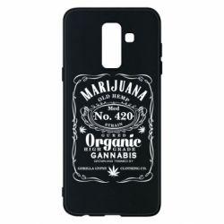 Чохол для Samsung A6+ 2018 Cannabis label