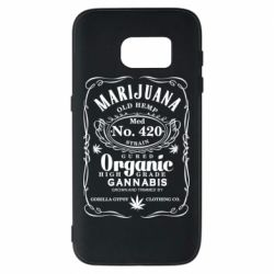 Чохол для Samsung S7 Cannabis label