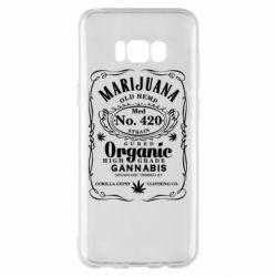 Чохол для Samsung S8+ Cannabis label