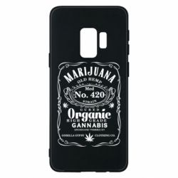 Чохол для Samsung S9 Cannabis label