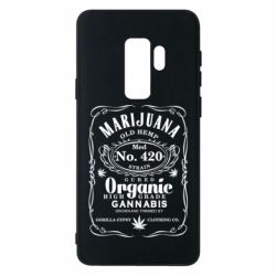 Чохол для Samsung S9+ Cannabis label