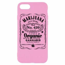 Чохол для iPhone 8 Cannabis label