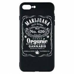 Чохол для iPhone 8 Plus Cannabis label
