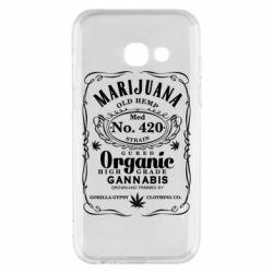 Чохол для Samsung A3 2017 Cannabis label