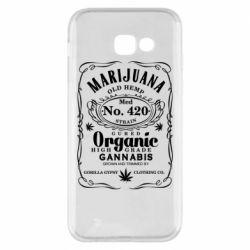 Чохол для Samsung A5 2017 Cannabis label