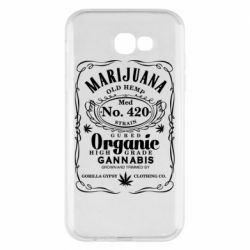 Чохол для Samsung A7 2017 Cannabis label