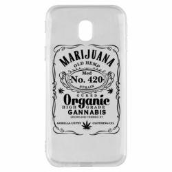 Чохол для Samsung J3 2017 Cannabis label