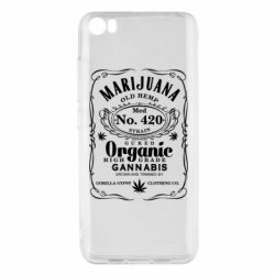 Чохол для Xiaomi Mi5/Mi5 Pro Cannabis label
