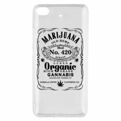 Чохол для Xiaomi Mi 5s Cannabis label