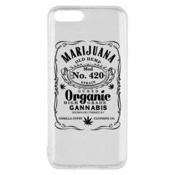 Чохол для Xiaomi Mi6 Cannabis label