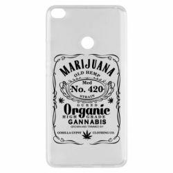 Чохол для Xiaomi Mi Max 2 Cannabis label