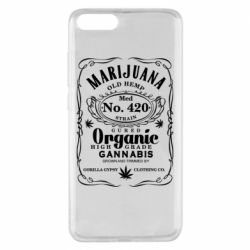 Чохол для Xiaomi Mi Note 3 Cannabis label