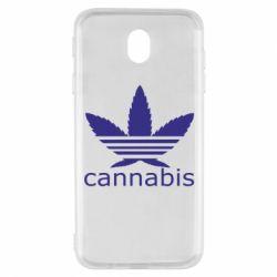 Чохол для Samsung J7 2017 Cannabis