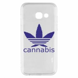Чохол для Samsung A3 2017 Cannabis