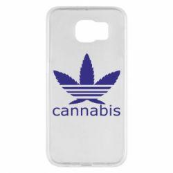 Чохол для Samsung S6 Cannabis