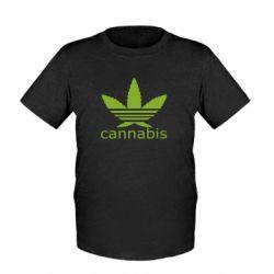 Детская футболка Cannabis - FatLine