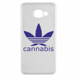 Чохол для Samsung A3 2016 Cannabis