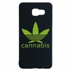 Чохол для Samsung A5 2016 Cannabis