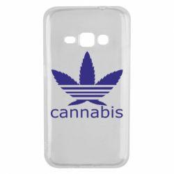 Чохол для Samsung J1 2016 Cannabis