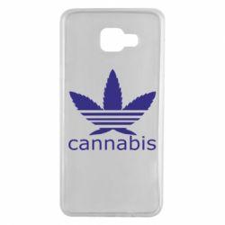 Чохол для Samsung A7 2016 Cannabis