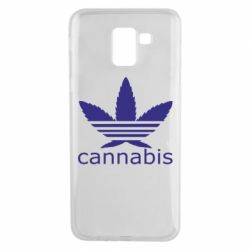Чохол для Samsung J6 Cannabis