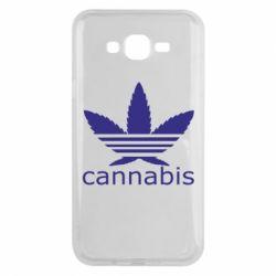 Чохол для Samsung J7 2015 Cannabis