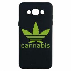 Чохол для Samsung J7 2016 Cannabis