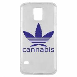 Чохол для Samsung S5 Cannabis