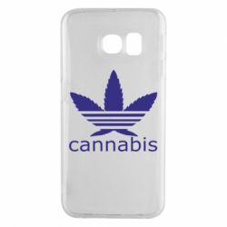 Чохол для Samsung S6 EDGE Cannabis