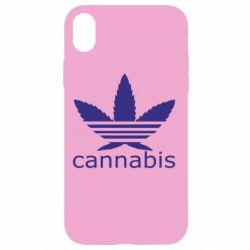 Чохол для iPhone XR Cannabis