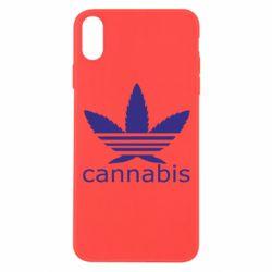 Чохол для iPhone Xs Max Cannabis