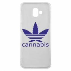 Чохол для Samsung J6 Plus 2018 Cannabis