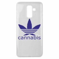 Чохол для Samsung J8 2018 Cannabis