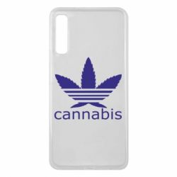Чохол для Samsung A7 2018 Cannabis
