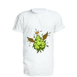 Подовжена футболка Cannabis