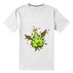 Чоловіча стрейчева футболка Cannabis