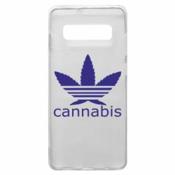 Чохол для Samsung S10+ Cannabis