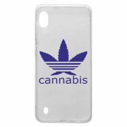 Чохол для Samsung A10 Cannabis