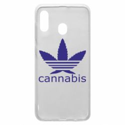 Чохол для Samsung A20 Cannabis