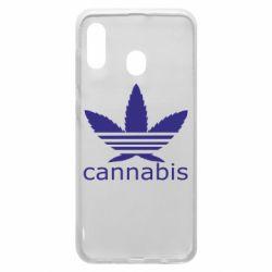 Чохол для Samsung A30 Cannabis