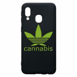 Чохол для Samsung A40 Cannabis