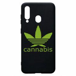 Чохол для Samsung A60 Cannabis