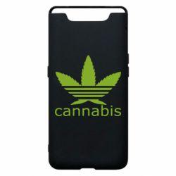 Чохол для Samsung A80 Cannabis
