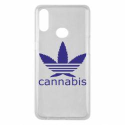 Чохол для Samsung A10s Cannabis
