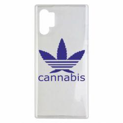 Чохол для Samsung Note 10 Plus Cannabis