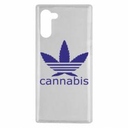 Чохол для Samsung Note 10 Cannabis