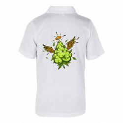Дитяча футболка поло Cannabis